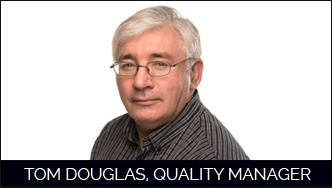Tom Douglas Quality Manager