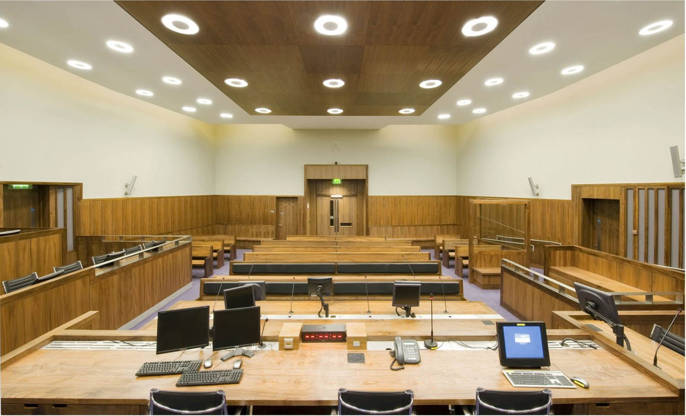 Criminal Courts Doors and Wall Panelling
