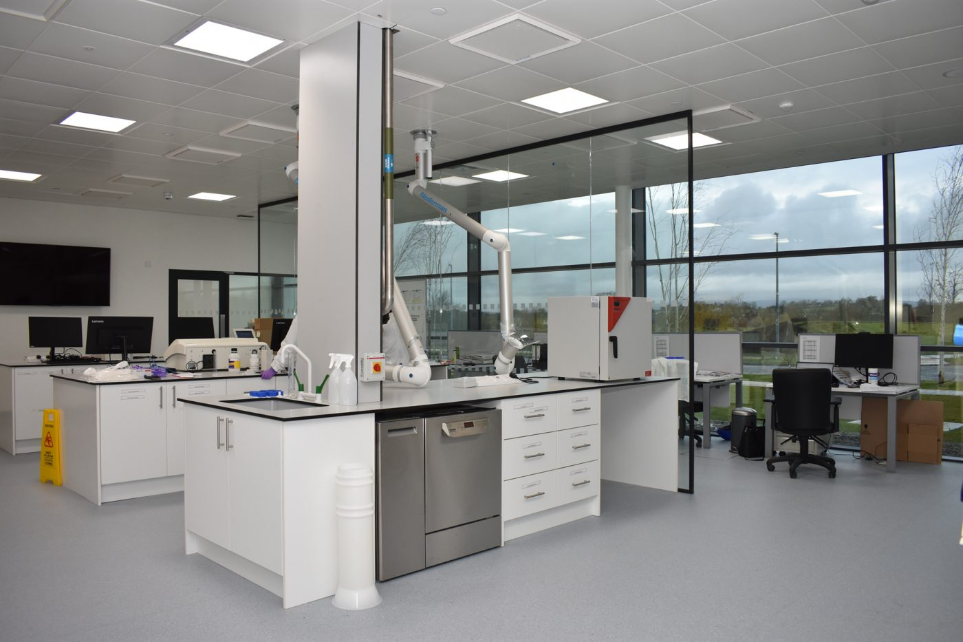 Greenfield Global Portlaoise Lab Fitout
