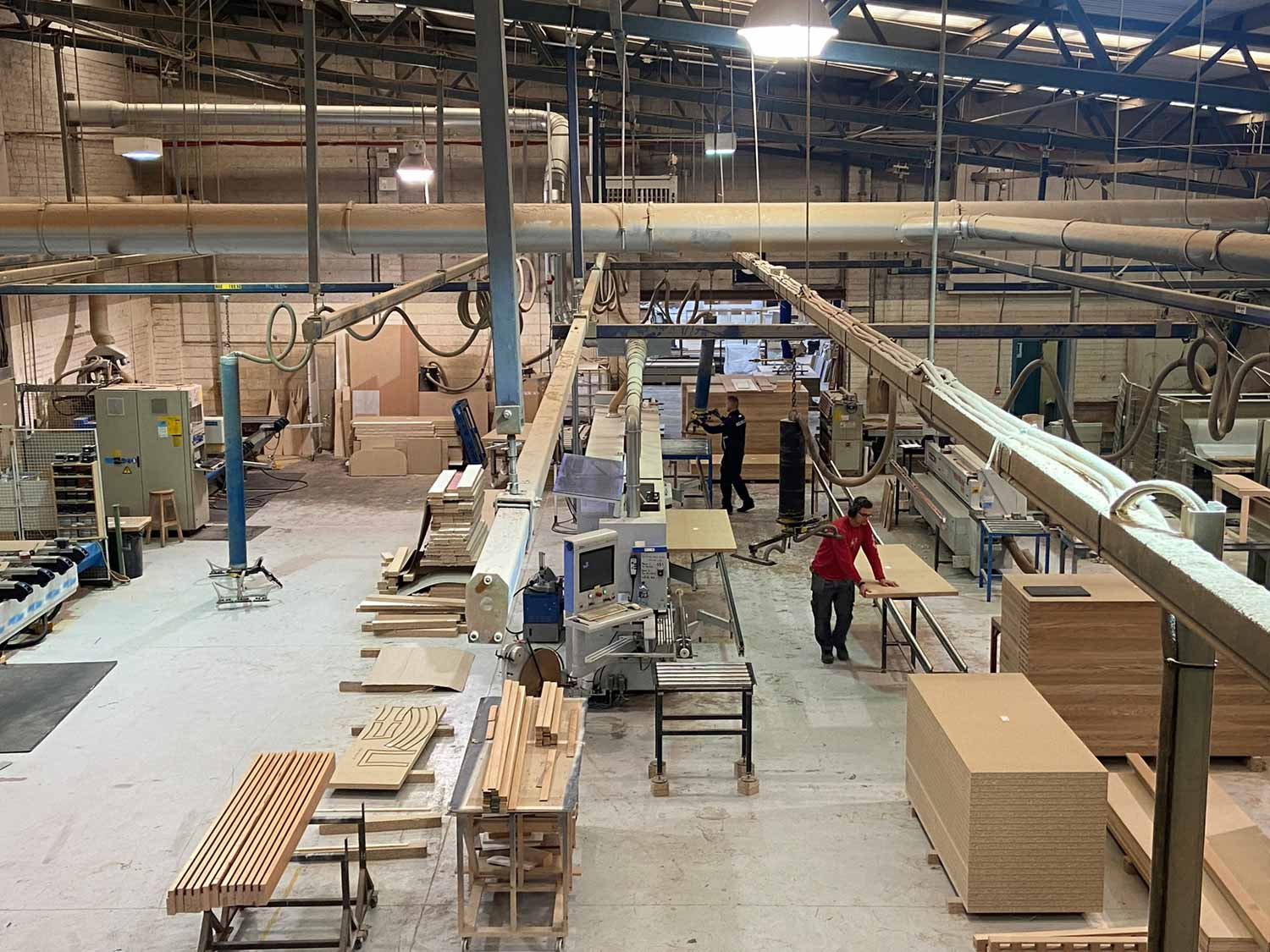Joinery facility